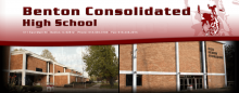 benton consolidated high school banner